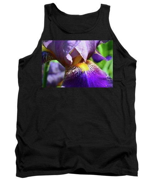 In The Purple Iris Tank Top