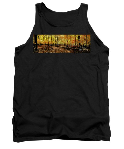 In The The Woods, Fall  Tank Top