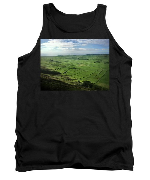 Incide The Bowl Terceira Island, Azores, Portugal Tank Top by Kelly Hazel