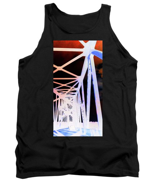 Tank Top featuring the photograph Indefinite Sight In by Jamie Lynn