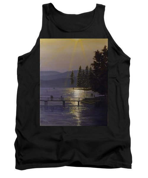 Independence Point, Lake Coeur D'alene Tank Top
