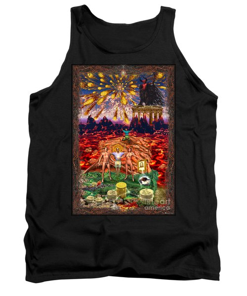Inferno Of Messages Tank Top