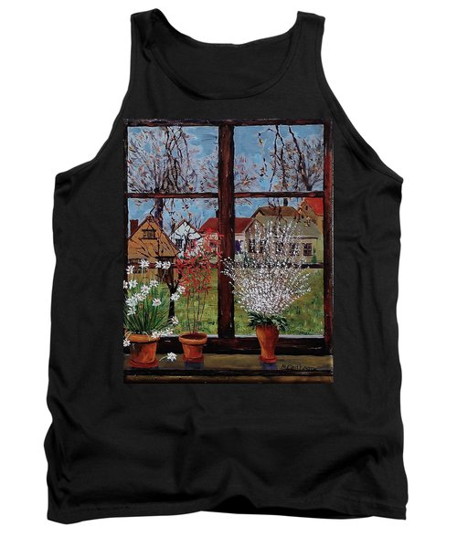 Inside Looking Out Tank Top by Mike Caitham