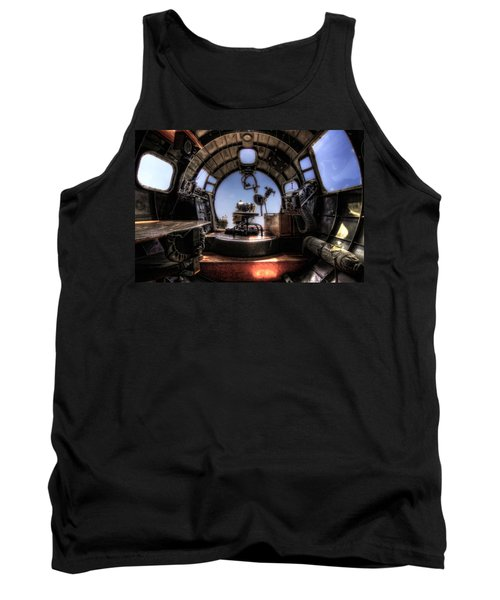 Inside The Flying Fortress Tank Top
