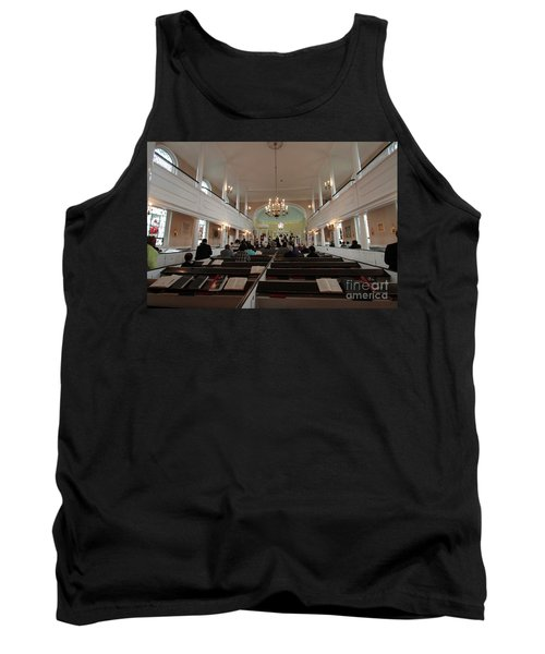 Inside The St. Georges Episcopal Anglican Church Tank Top