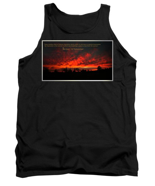 Tank Top featuring the photograph Inspiration by Joyce Dickens