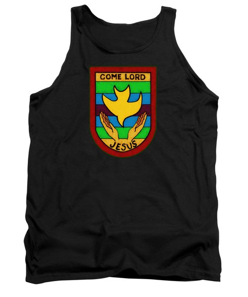 Inspirational - Come Lord Jesus Tank Top by Glenn McCarthy Art and Photography