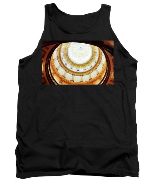 Tank Top featuring the photograph Interior Denver Capitol by Marilyn Hunt