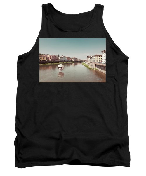Tank Top featuring the photograph Interloping, Florence by Joseph Westrupp