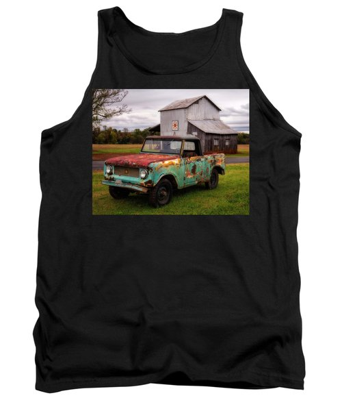 Tank Top featuring the photograph International Scout by Alan Raasch
