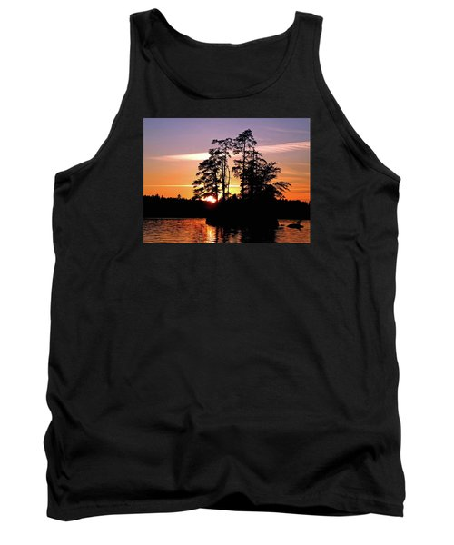 Into Shadow Tank Top