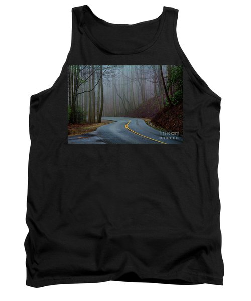Into The Mist Tank Top by Douglas Stucky