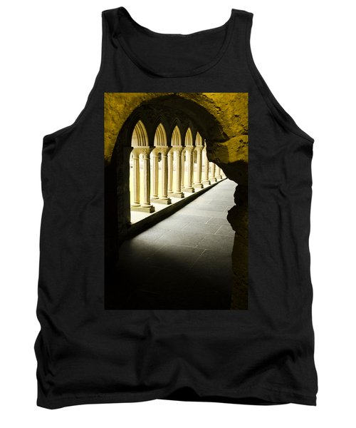 Tank Top featuring the photograph Iona Abbey Scotdland by Sally Ross