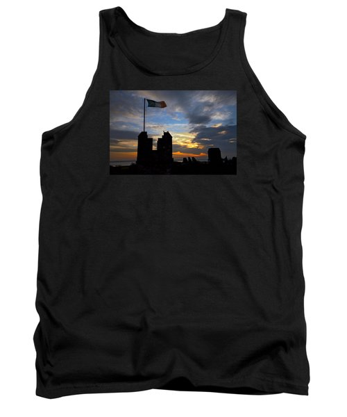 Irish Sunset Over Ramparts 2 Tank Top