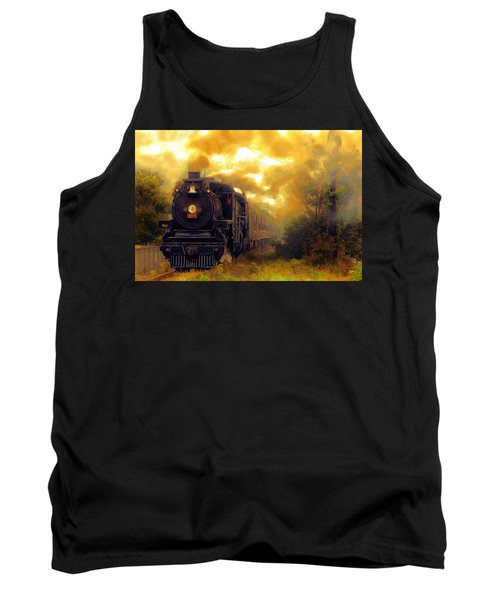 Tank Top featuring the photograph Iron Horse by Aaron Berg