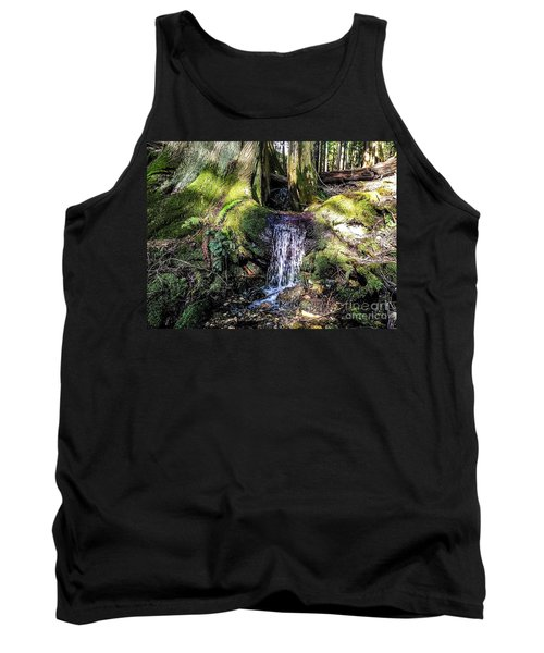 Tank Top featuring the photograph Island Stream by William Wyckoff