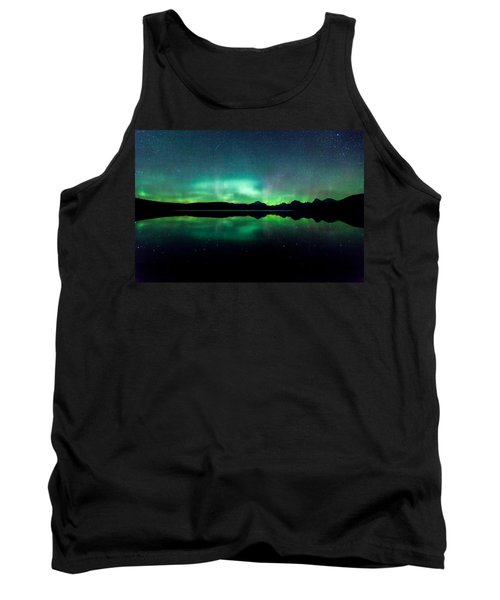 Tank Top featuring the photograph Iss Aurora by Aaron Aldrich