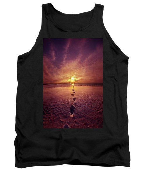 Tank Top featuring the photograph It Is Then That I Carried You by Phil Koch