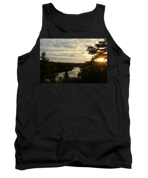 It's A Beautiful Morning Tank Top by Debbie Oppermann