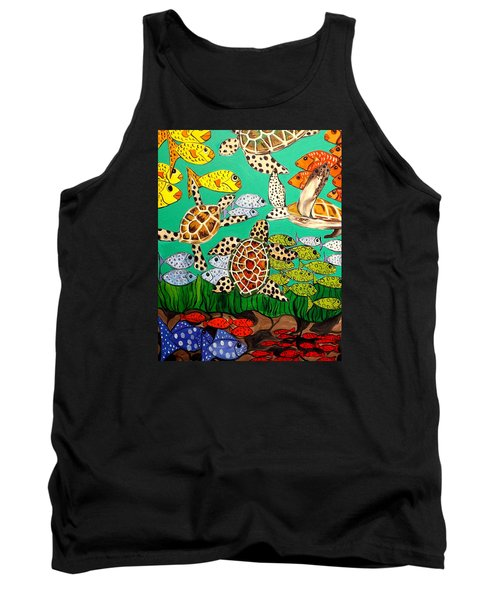 It's Turtle Time Tank Top by Lisa Aerts