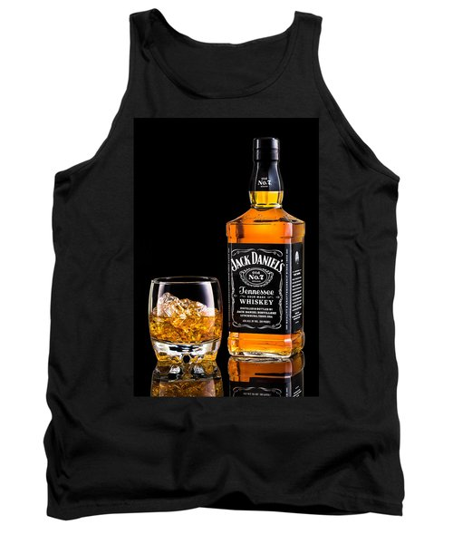 Jack Daniel's Tank Top by Mihai Andritoiu