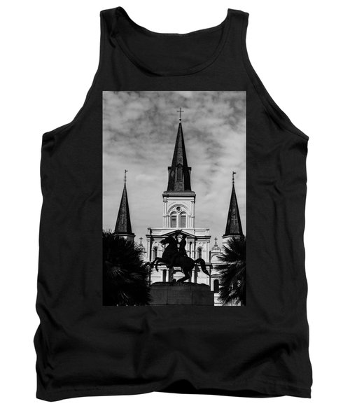 Jackson Square - Monochrome Tank Top