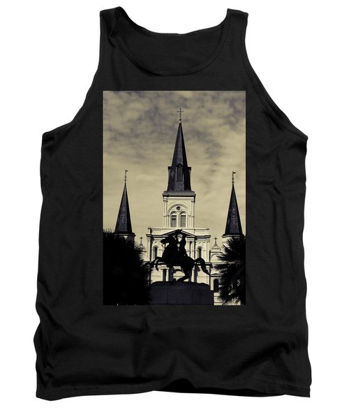 Jackson Square - Split Tone Tank Top