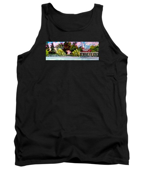 Jacksonville Nc Waterfront Tank Top