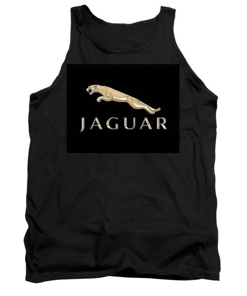 Jaguar Car Emblem Design Tank Top