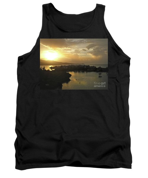 Jamaica Sunset Bay Tank Top