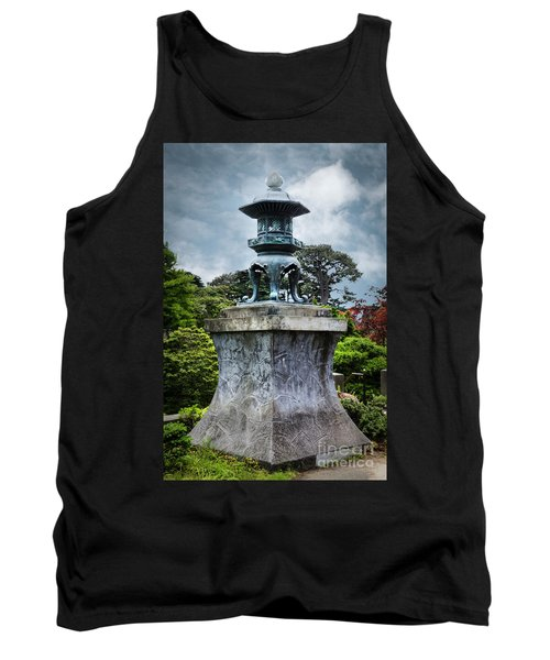Japanese Garden Tank Top by Judy Wolinsky