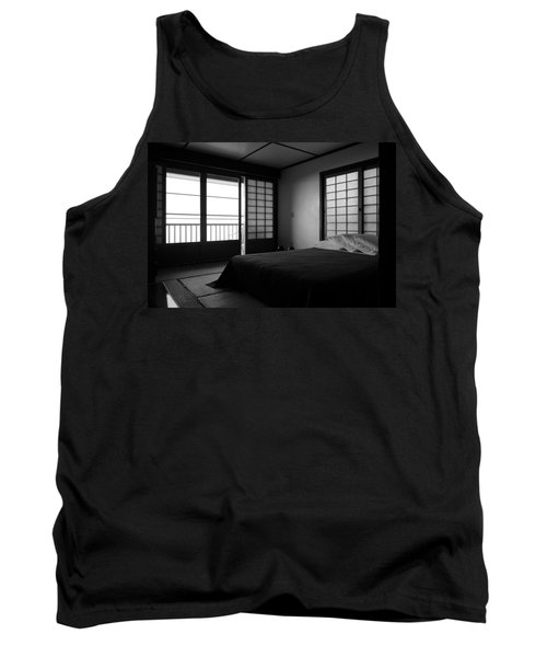 Japanese Style Room At Manago Hotel Tank Top by Lori Seaman