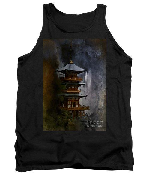 Japanese Temple. Tank Top