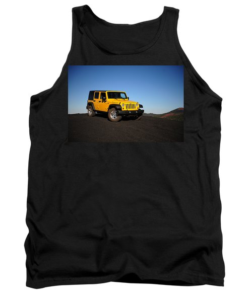 Jeep Rubicon In The Cinders Tank Top