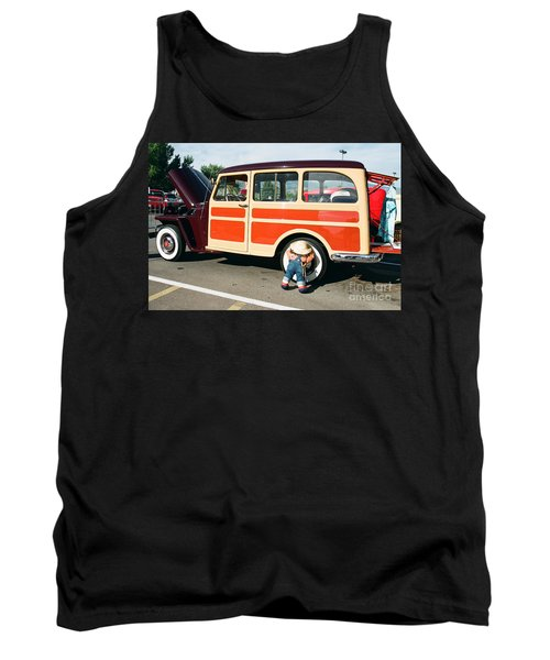 Jeepster Tank Top by Vinnie Oakes