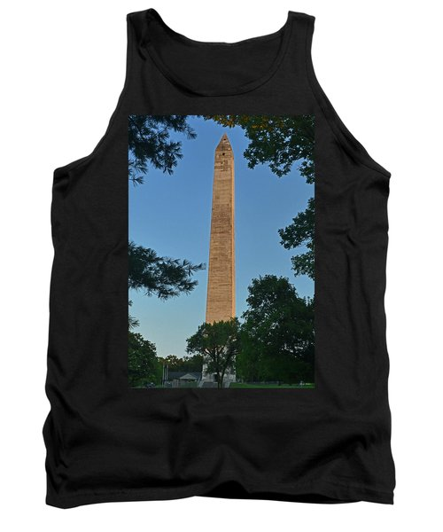 Tank Top featuring the photograph Jefferson Davis Monument - Fairview Kentucky 001 by George Bostian