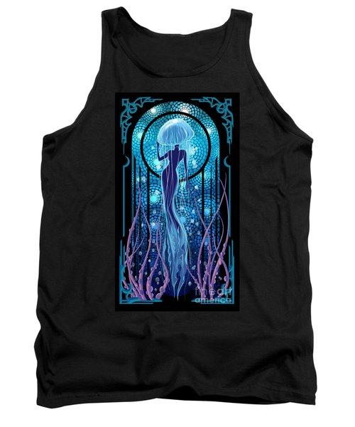 Jellyfish Mermaid Tank Top