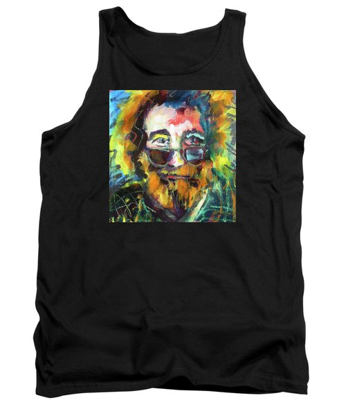 Jerry Garcia Tank Top by Les Leffingwell