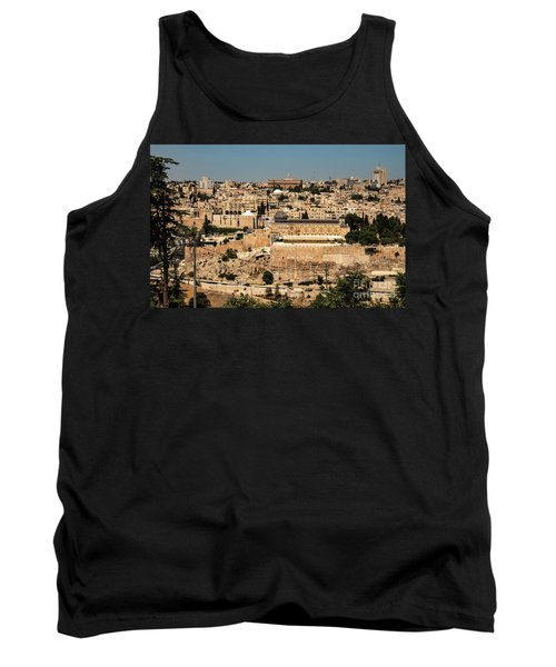 Tank Top featuring the photograph Jerusalem by Mae Wertz