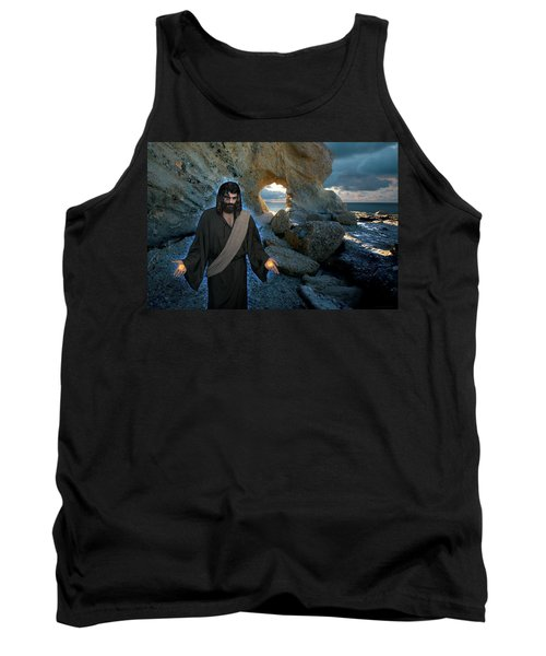 Jesus Christ- And Surely I Am With You Always Tank Top