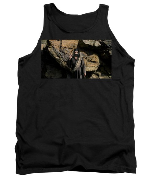 Jesus Christ- Be Blessed And Prosper Tank Top