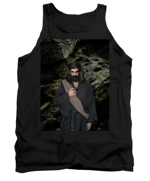 Jesus Christ- Be Still And Know That I Am God Tank Top