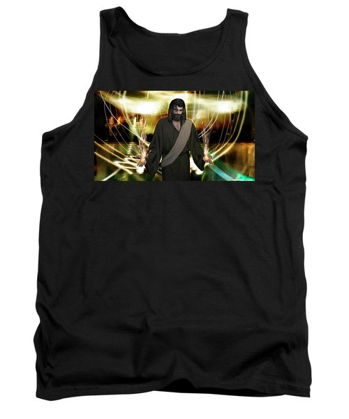 Jesus Christ- God Shines In Glorious Radiance Tank Top