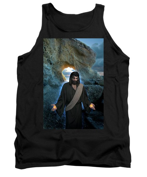 Jesus Christ- I Am With You Always Tank Top