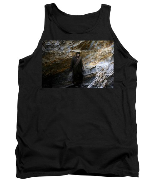 Jesus Christ- The Lord Is My Light And My Salvation Tank Top