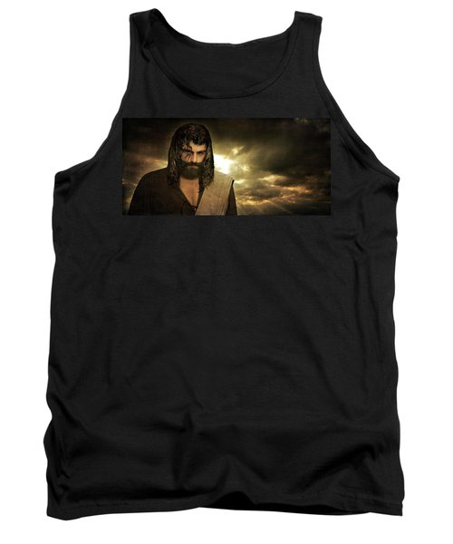 Jesus Christ- Will You Hear Me Shout Come Up Tank Top