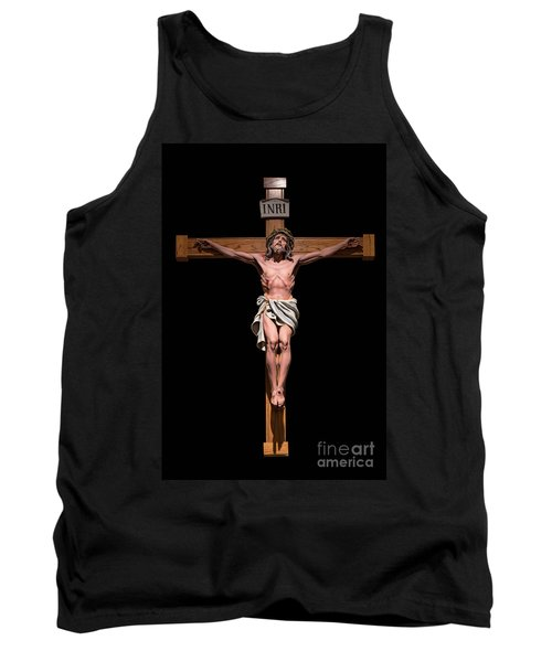 Tank Top featuring the photograph Jesus, Savior Of The World by Bonnie Barry