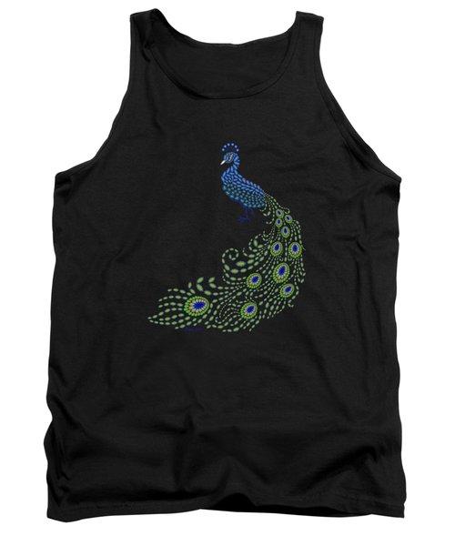 Jeweled Peacock Tank Top