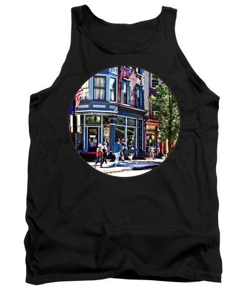 Jim Thorpe Pa - Window Shopping Tank Top
