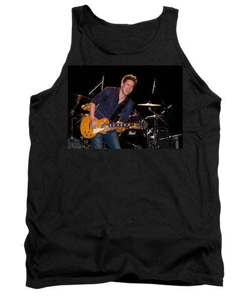 Jonny Lang Rocks His 1958 Les Paul Gibson Guitar Tank Top